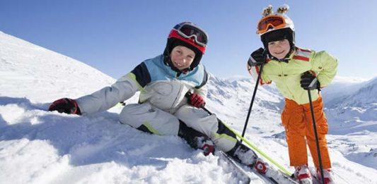 piccoli sciatori