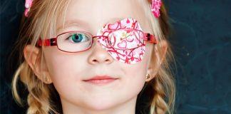 Occhio pigro o ambliopia nei bambini. Come aiutarli